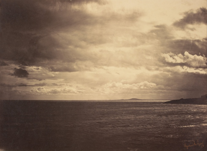 Gustave_Le_Gray_(French_-_Cloudy_Sky_-_Mediterranean_Sea_(Ciel_Charge_-_Mer_Mediterranee))_-_Google_Art_Project