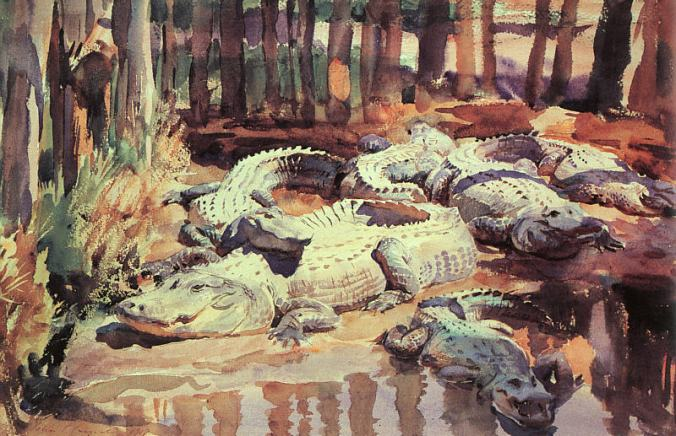 Sargent_-_Muddy_Alligators